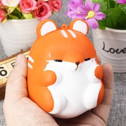 Hamsters Homes online shopping - Besegad Slow Cute Kawaii Soft Squishy Squishi Colorful Simulation Hamster Toy Slow Rising for Relieves Stress Anxiety Home Decoration