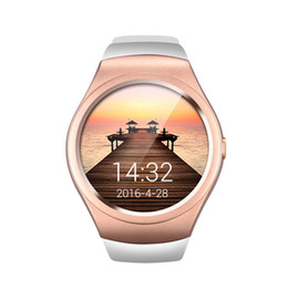 Bluetooth Smart Watch Sim Australia - Full Circle Touch Screen V365 Bluetooth Smart Watch Call Message Reminder Sports Fitness Support SIM TF Card For IOS Android
