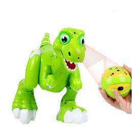 Discount remote control robotics - RC Dinosaur Robot Toys Dinosaur Interactive Remote Control Robotic Radio Controlled Dinosauro Electronic Toys Novelty It
