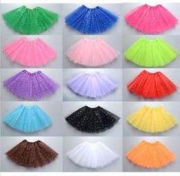 Skirt StarS online shopping - 14styles girls tutu skirt princess dress sequin star ballet dancing party skirt Girl Shine short dress FFA574