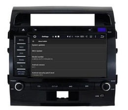 Discount toyota land cruiser screen - 8-Core 8 inch Android 6.0 Car Dvd Gps Navi Audio for Toyota Land Cruiser 200 2008-2012 HD1024*600 1080P 2GB 32GB nand Wi