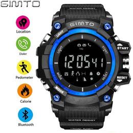 $enCountryForm.capitalKeyWord NZ - X GIMTO Outdoor Sport Men Smart Watch Bluetooth Cool Shock Military Digital Electronics Male Watches Waterproof Pedometer Clock