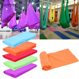 Discount aerial yoga hammock - Yoga Hammock Anti Gravity Aerial Flying Training Fitness Swing Elastic Therapy dropshipping