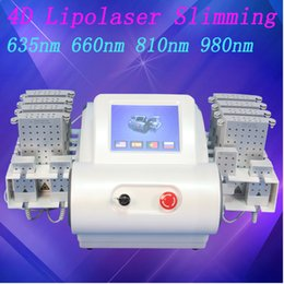 Laser 635nm online shopping - Best selling portable machine lipolaser slimming cellulite removal fat burning lipo laser body slimming machine nm nm nm nm