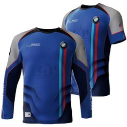 Quick Dry Shirts For Men Australia - Riding Motorcycle T-Shirt Motocross Mens Car FOR BMW US Moto Short Tops Motocross Short Sleeve Tshirts Quick-Drying Summer Spring MX