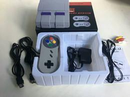game console 16 bit 2019 - 16bit Super Classic SFC SNES TV Mini Game Console 2018 Newest 16 bit Console For 16bit 94 SFC NES SNES Games Consoles