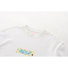 8dbd068ac0a6 Golf Wang Canada - GOLF WANG Box logo Tyler the Creator Tee Casual Solid  Short Sleeve