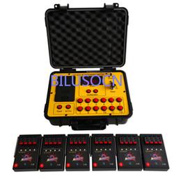 Venta al por mayor de Envío gratis 24 señales Fireworks sistema de control remoto de equipos de control de incendios