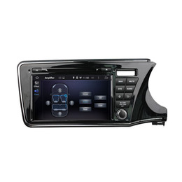 steering wheel honda NZ - Car DVD player for Honda CITY 2015 right driving 9inch Octa-core Andriod 8.0 with 4GB RAM,GPS,Steering Wheel Control,Bluetooth,Radio