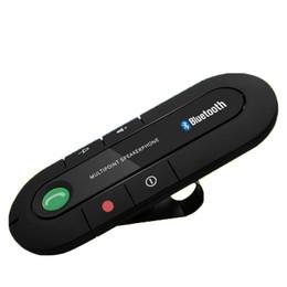 Venta al por mayor de Elegante apariencia simple y generosa llamada de larga espera 24 horas Accesorios del coche Teléfono Bluetooth manos libres del transmisor FM