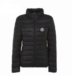 Col de Noël Hiver Debout court paragraphe mince lumière Womn's Down jacket Femme coréenne Slim fit section mince manteau léger