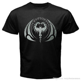 $enCountryForm.capitalKeyWord Canada - Printing On T Shirts O-Neck Short Sleeve New CRYPTOPSY Logo Death Metal Rock Band Men's Black T-Shirt Size S to 3XL Regular Tee