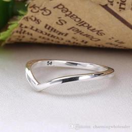 Großhandel Shinning Wunsch Silber Ringe S925 passt für Pandora Stil Schmuck 196315 H8ale 196314