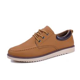 bfbe20afe Высокое качество мужская нескользящая оснастки обувь осень и зима новая  мужская обувь британский досуг обувь дикая мода корейский версия работы мы