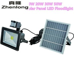Solar Powered Pir Floodlights NZ - 10W Solar Power Pir Infrared Motion Carport Security High Brightness Led Floodlight Outdoor Waterproof Garden Flood Wall Light
