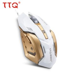 77bfde41fa6 TTQ Mechanical Mouse gamer laser Led gaming mouse Wired USB Four DPI 3200  gaming chip Mice 5 Buttons 2 Colors gamer set Wired 3D