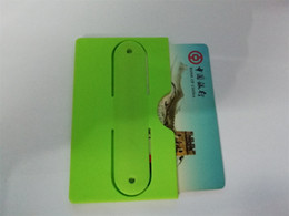 $enCountryForm.capitalKeyWord NZ - OEM wholesale side of the mouth Promotional Gift Cell Phone Rubber Customized Id 3m Sticker Smart Wallet Mobile Silicone Credit Card Holder