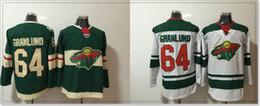 Team Hockey Uniforms NZ - Minnesota Wild #64 Mikael Granlund New Mens Ice Hockey Shirts Pro Sports team Jerseys Uniforms Stitched Embroidery Sz S-XXXL For Sale