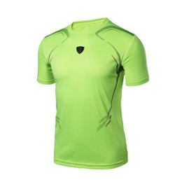 Discount moisture wicking t shirts wholesale - FANNAI 2018 New Arrival Outdoor Sports Men Quick-drying Short Sleeve Moisture Wicking T-shirt Running Sportswear