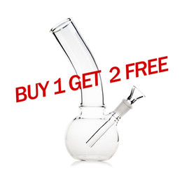 Buy cheap online shopping - Reanice small bong glass water clear water cheap pipes buy one and get two free on sale