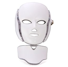 China 7 Colors Photon PDT Led Facial Mask LED Face And Neck Mask PDT LED Light Therapy With BIO Microcurrent For Skin Rejuvenation Anti Aging suppliers
