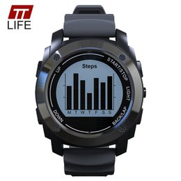 $enCountryForm.capitalKeyWord Canada - TTLIFE GPS Sport Smart Watch S928 Heart Rate Monitor Height Race Speed Climbing Watch Outdoor Fitness Tracker Smart Sports