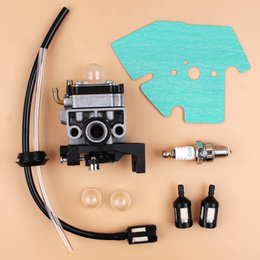 $enCountryForm.capitalKeyWord Australia - Carburetor Carb Gasket Spark Plug Fuel Line Hose Kit For Honda GX25 GX35 GX 25 35 HHT35 HHT35S FG110 Trimmer Mowers Engine