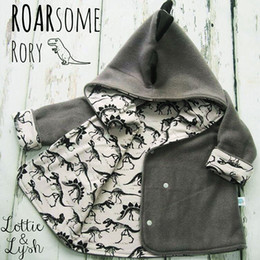 $enCountryForm.capitalKeyWord Canada - Baby boys dinosaur coats 2018 Autumn Winter kids Hoodies Cardigan Jacket children Outwear kids Clothing C4537