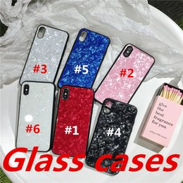 Crystal Box For Case Australia - New to i6\7\ X glass cases of 6 s + design boxing gloves phone case based Coque toughened glass shells crystal series glass protection