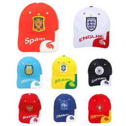 92ad51f8982 Adults Russia World Cup Theme Baseball Cap 10 Styles Chic Adjustable Hats Soccer  Fan Souvenir Ball Caps LJJO5141