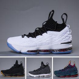 2018 Ashes Ghost Blumengleichheit Lebron 15 Basketballschuhe Herren Lebron Schuhe Sneaker 15s Herren Sportschuhe James 15 us 7-12
