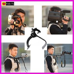 hands free pad NZ - Camera Tripod Hand Free Shoulder Support Pad Bracket Portable Travel Shoulder Support