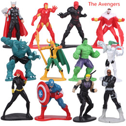 Transformer seTs online shopping - 12pcs set Avengers Transformers tomas style action figures Cartoon Play Toys Christmas Gift for children kids toys size cm