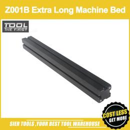 $enCountryForm.capitalKeyWord NZ - Free Shipping! Z001B Extra Long Machine Bed enchanced base 510x50x50mm baseplate Zhouyu Accessory