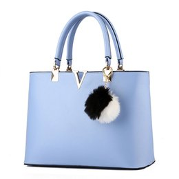 32230226ee MONNET CAUTHY Bags Woman Concise Leisure Fashion Socialite Sweet Handbag  Candy Color Blue Lavender Pink White Red Top Handle Bag