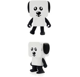 Chinese  New multi-function dancing robot Bluetooth speaker Card square puppy portable wireless toy audio manufacturers