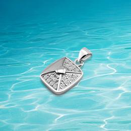 Pendant Rectangle Stone Australia - 925 Sterling silver pendants.Necklace pendants.Fashion women accessories. Single pendants,Shiny zircon Rectangle pendants.