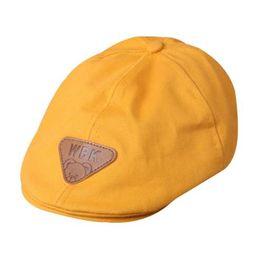 d9a0d6f8d51 fashion children cotton Beret Hats bonnet hat warm caps boy girl cap kids  newsboy cap baby boy boinas Autumn Winter Warm gorro