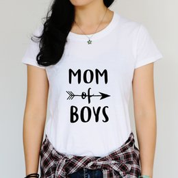$enCountryForm.capitalKeyWord NZ - Graphic T shirts for Mama Fun tees for Mama Wordings Mom of Boys Mama Needs a Coffee Boutique Mother Casual Tees Plus Sizes