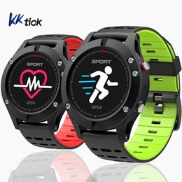 reloj smartwatch inteligente NZ - KKTICK F5 SmartWatch GPS Fitness band Altimeter Barometer Thermometer reloj inteligente Sports Watch Fitness Activity Tracker