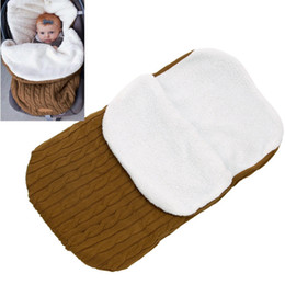 $enCountryForm.capitalKeyWord UK - Winter Baby Blanket Cute Newborn Swaddle Wrap Warm Unisex Infant Sleeping Bag Soft Sleep Sack Stroller Wrap V506