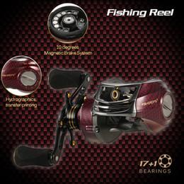 $enCountryForm.capitalKeyWord Australia - 17+1 Ball Bearings Left   Right Hand Bait Casting Gear Ratio 6.3:1 Baitcasting Reel Fishing Tackle Tool Pesca
