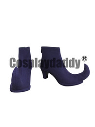 ingrosso cacciatori stivali-HUNTER HUNTER Hisoka Purple Halloween Cosplay Shoes Boots