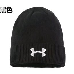 Cool Winter Beanies For Men NZ - F Autumn winter Outdoor cool fashion hat knit hat ear cap for men and women plus fleece caps warm ear knitted hat free shipping