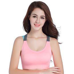0c7c0b15d Vutru women s sports bra yoga bra yoga tops fitness running shockproof sports  underwear strap cross back tops gym outdoor