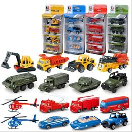 Toys & Hobbies 4pcs Wooden Childrens Slide Car Trolley Track Slide Slide Car Inertia Pull Back Glider Toy Car