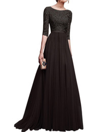 $enCountryForm.capitalKeyWord UK - 2019 Arabic Lace Prom Dresses Long Black Jewel Hollow Back Sweep Train Royal Blue Appliques Illusion Bodice Long Evening Party Gowns