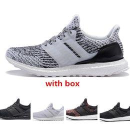 ca2386bc74fff Discount best men high sneakers - Ultra 3 Oreo triple black cny best  quality Men Women Running
