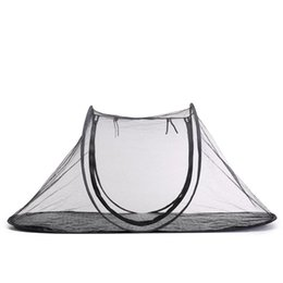 outdoor cat housing Canada - Foldable Pet Tent Pet House Camping Tent Supplies for Dog Cat Outdoor