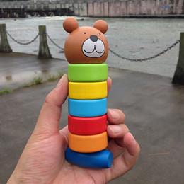 $enCountryForm.capitalKeyWord NZ - Stacking Block Primary Baby Wooden Educational Cartoon Stacking Block Toy Rainbow Tower Kids Kindergarten Home Play Toys
